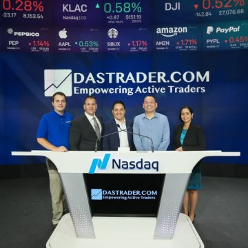 A day at the Nasdaq – #1Best Trader