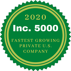 DAS Inc Ranks No. 2989 on the 2020 Inc. 5000 with Three-Year Revenue Growth of 131.81%.